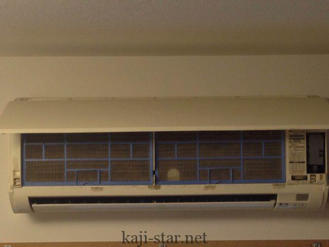 エアコンのフロントパネル